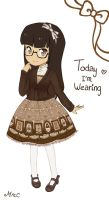 Today I'm wearing.. by MimiChair