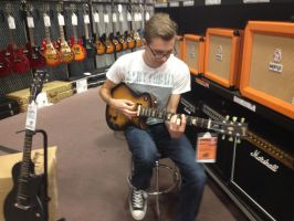The new Les Paul's are in by Fox-Jake