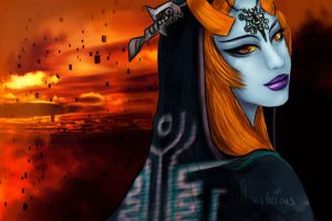 The Legend of Zelda - Twilight Princess Midna by shamylicious