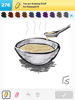 Draw Something: Soup by Vie242