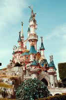 DisneyLand Castle by LilP0p