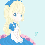 Chibi Alice in Wonderland Series: Alice by Chrys-o-prase