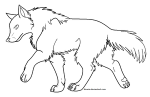 Free lineart by Dinaria