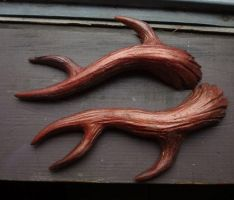 Copper Antlers by missmonster