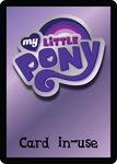 MLP CCG Card-In-Use Card by mewtwo-EX