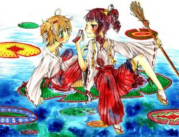 shrine maidens by itachilover834