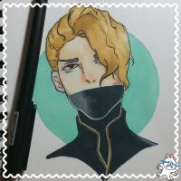 Inktober 7/31 I LOVE NOBLESSE by Ice-Chanxx