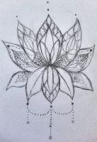 Lotus mandala by Dilemm0r