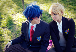 Penguins and Butterflies   Reigisa Cosplay by a-nouki