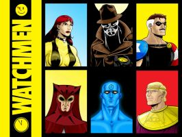 WATCHMEN Remastered by Thuddleston