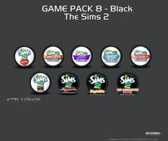 GamePack 9 Black The Sims2 by 3xhumed