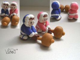 Ice Climbers by VictorCustomizer