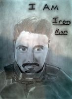 Iron Man Portrait by Triplet99c