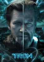 TRON: legacy - Flynn lives by AndrewSS7