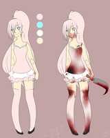 Lilly The Porcelain  Doll Creepypasta OC by janethewolf12