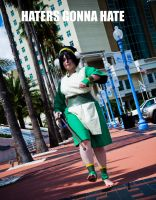 Haters Gonna Hate Toph by NicolaiAndrews