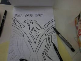 Fall Out Boy The phoenix WIP 1/11 by UsuallyElectricDuck