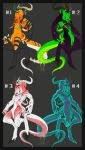 Tentacle Horror Adopts - [Open] by Genesisnx