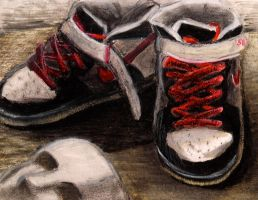 Shoes of a dancer by FlipboyGeoX