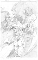 Spawn 154 cover pencils by butones