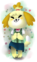 Isabelle by pSarahdactyls