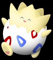 Pokemon Revamps: Togepi by Susyspider