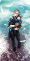 Vergil and Nero by Allegro97