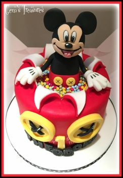 Mickey Mouse by gertygetsgangster