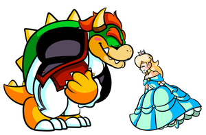 Commission - Rosie & the Bowser by JamesmanTheRegenold