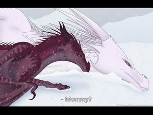 Don't Leave Me Alone... [Speedpaint Video] by xTheDragonRebornx