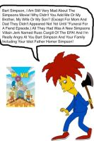 Sideshow Bob Still Mad About The Movie by darthraner83