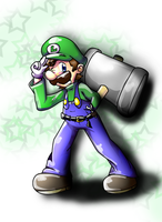 LUIGI TIME by Foxeaf