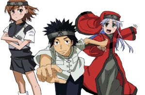A Certain Magical Index {naruto style} by kingfret