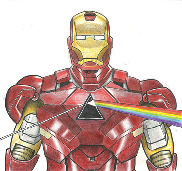 Tony Stark's new chest-piece. by SaveTheGnomes13