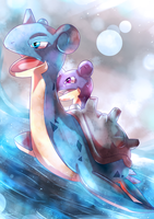 Day 238 - Laplace | Lapras by AutobotTesla