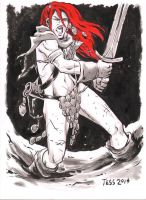 Fan Request Red Sonja 1 by TessFowler
