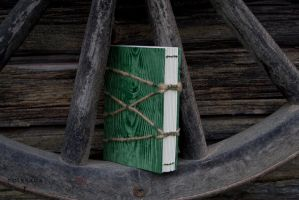 Emerald Green Notebook by Folksaga