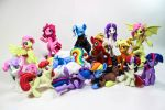 Featured at BronyCon 2015 by dustysculptures