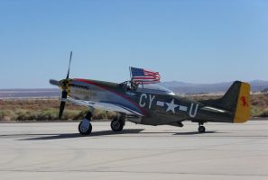 Victorious P-51 by bustersnaps