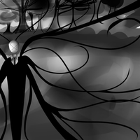 Slender Man -With X- by Neko-Pounce