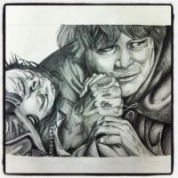 Sam and Frodo by AmyLou31