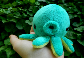 Teal Octopus Plush by HobbaGobwin
