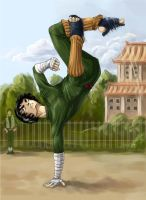 Rock Lee by SnowSkadi