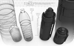 bottle design by silva018