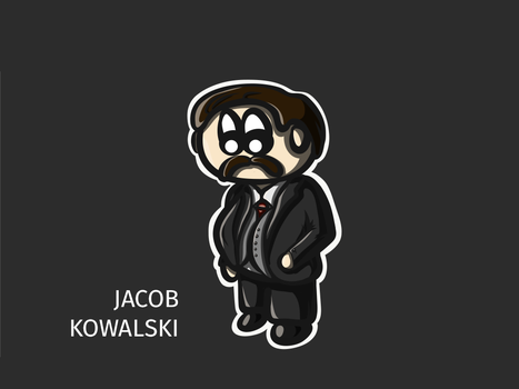 Jacob Kowalski by JosephSinger