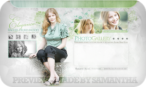 Rachel Hurdwood Gallery header by CrimsonHeartx