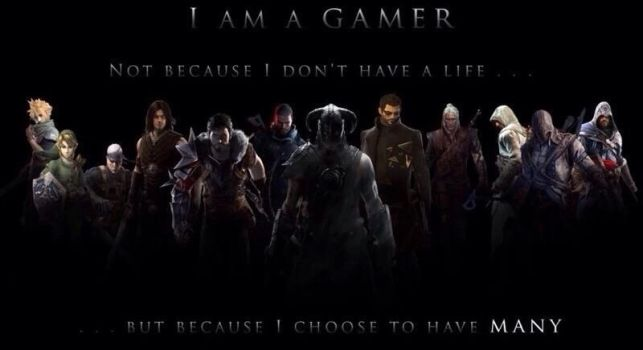 I am a gamer by TheFunnyAmerican