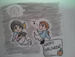 Happy Halloween? (request) by Evekle