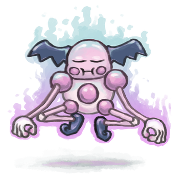 Mr. Mime used Meditate! by shamsnelson