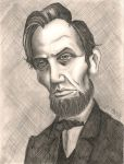 Abraham Lincoln - Shaded by Colour-Me-Deranged